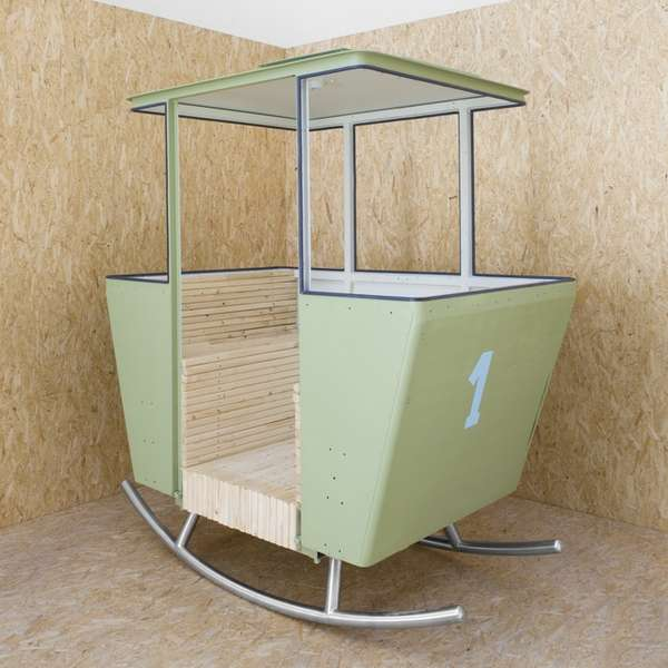Salvaged Ski Lift Seating