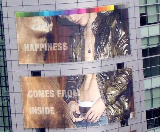 Bear Fashion Ads