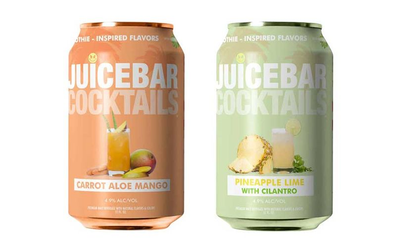 Canned Smoothies Cocktails
