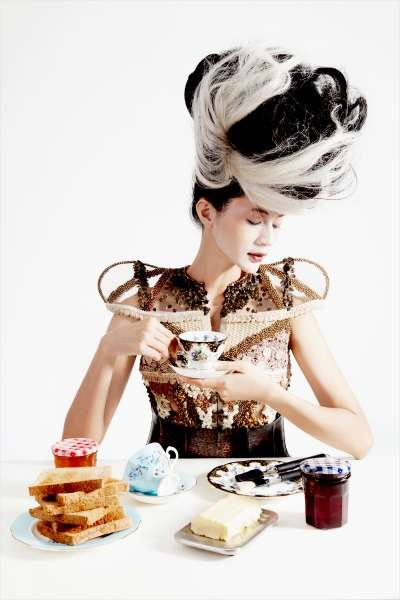 Ornate Tea Party Editorials