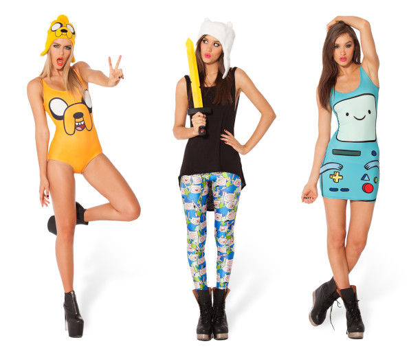 cult cartoon clothing collabs adventure time collection