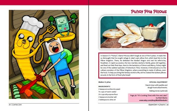 Cartoon Inspired Cuisine Adventure Time Cookbook
