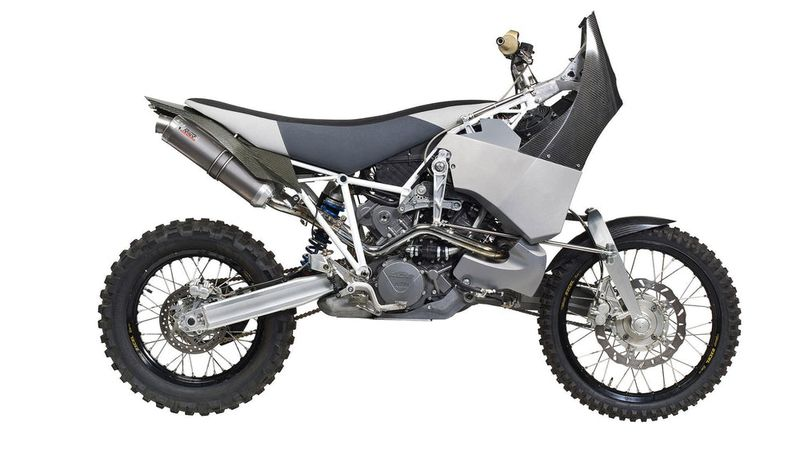 Adventurous Off-Road Motorbikes