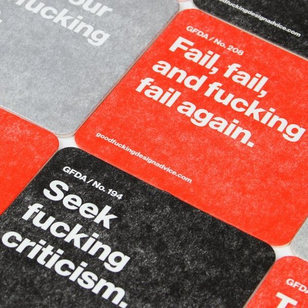 Hilariously Blunt Advice Coasters