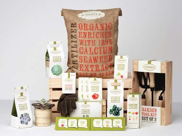Minimalist Organic Packaging