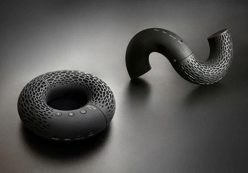 Twist-Apart Donut Speakers