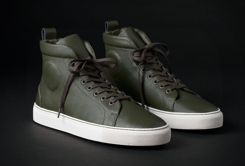 Motorcyclist-Inspired Sneakers