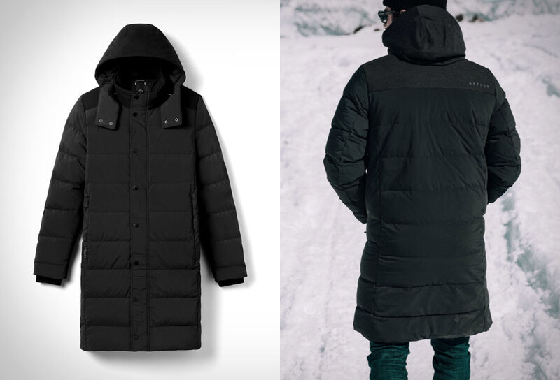 Stretchable Insulated Parkas