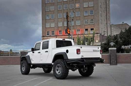 Multipurpose Pickup Trucks : AEV Brute double cab