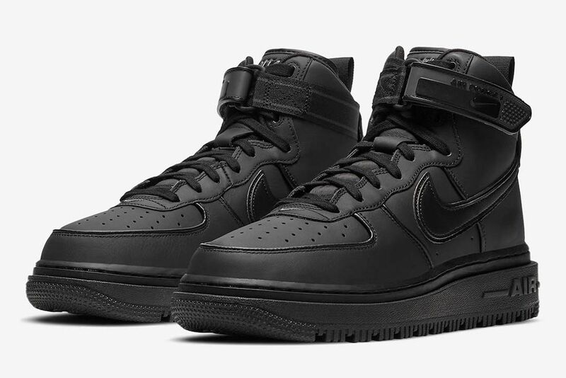 Winterized High-Top Sneakers : AF1 Boot