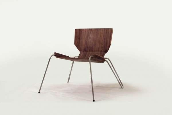 Minimalist Angled Seating