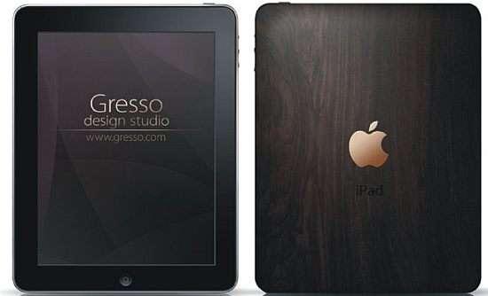 Wooden iPads
