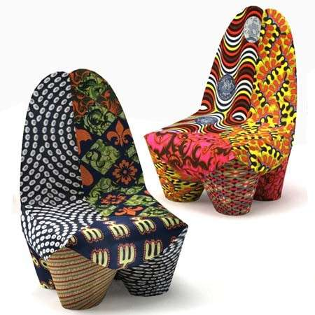 Beau African Inspired Furniture