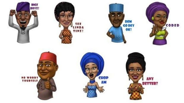 West African Emojis