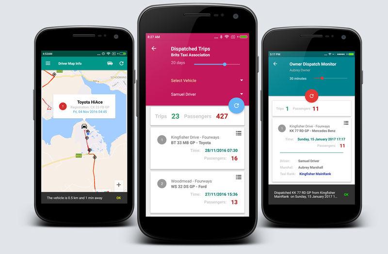 Public Transit Management Apps