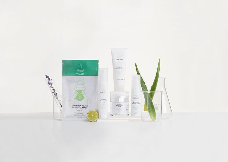 Plant-Powered Age-Defying Skincare