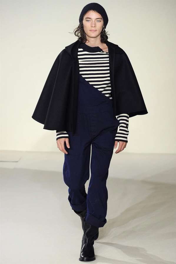 Contemporary-Caped Menswear