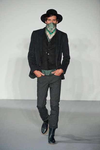 contemporary cowboy fashions agnes b fw 2013