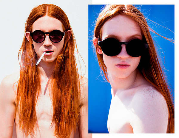 Androgynous Redhead Depictions