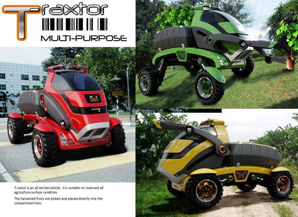 Multipurpose Shapeshifting Farm Vehicles