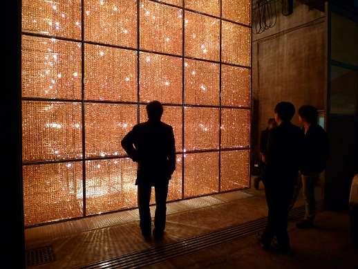 Shimmering Chandelier Walls