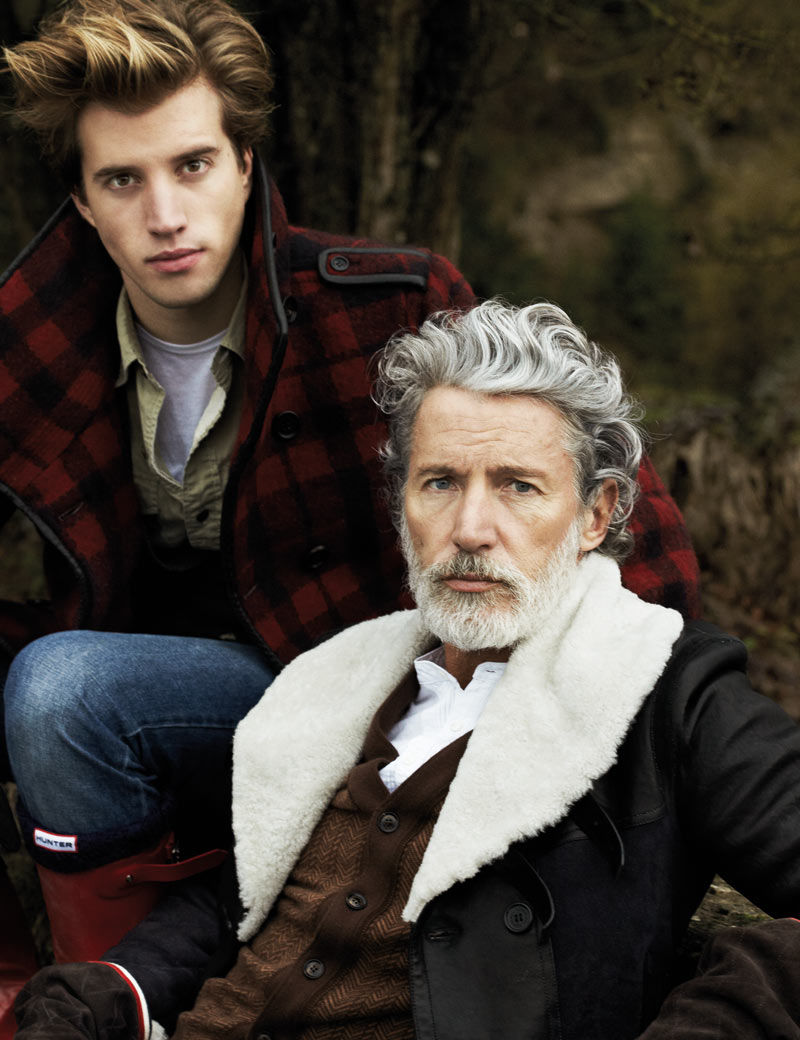 Multi-Generational Menswear Shoots