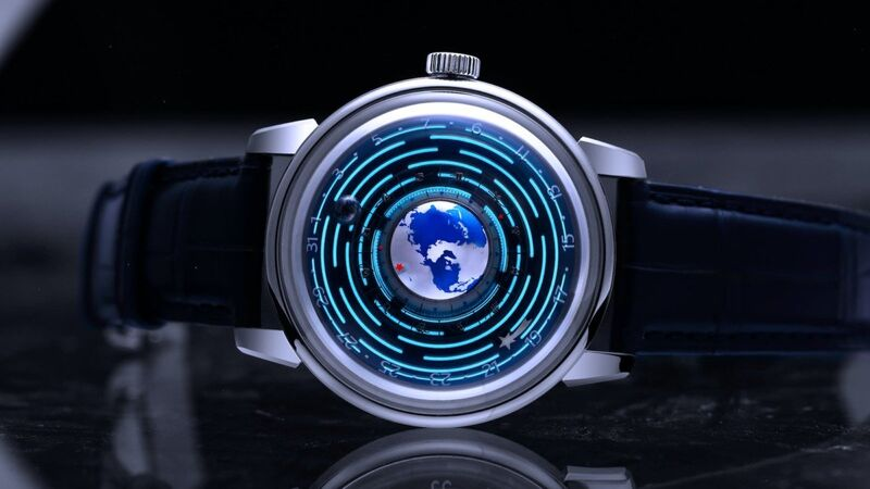 Planet-Inspired Mechanical Timepieces