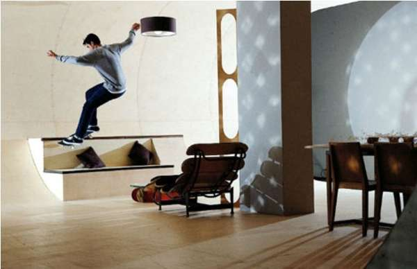 Skate Park Living Rooms