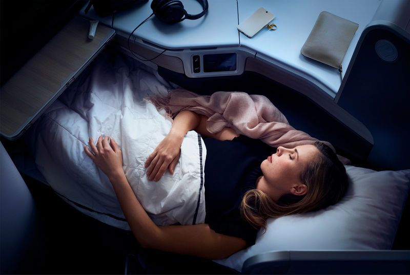 Aromatic In-Flight Experiences