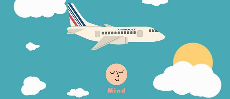 In-Flight Well-Being Apps