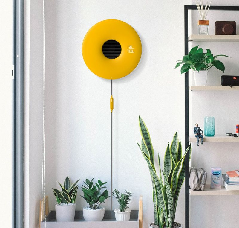 Slim Wall-Mounted Air Purifiers