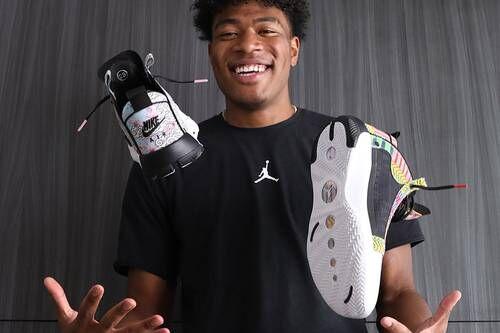 Athlete Heritage-Honoring Sneakers
