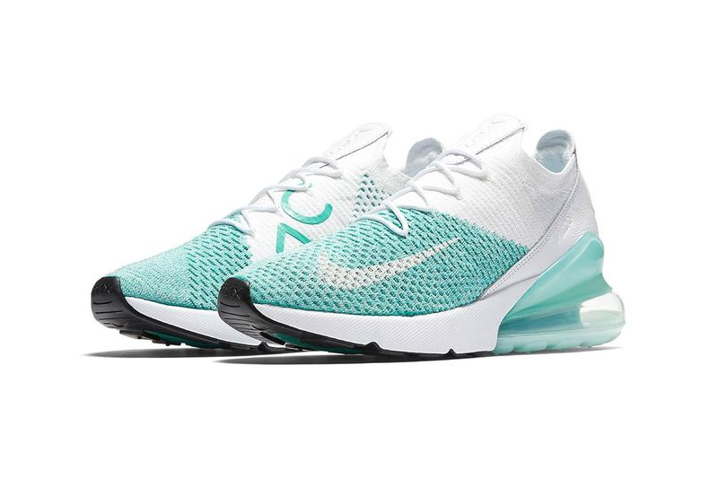 more photos e2bd3 ccf64 Minty Igloo-Inspired Sneakers : Air Max 270s