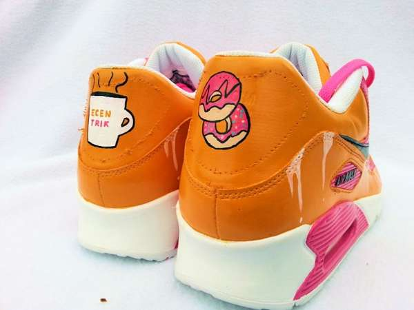 6cec5c953f49 Vibrant Donut-Inspired Sneakers   air max custom shoes