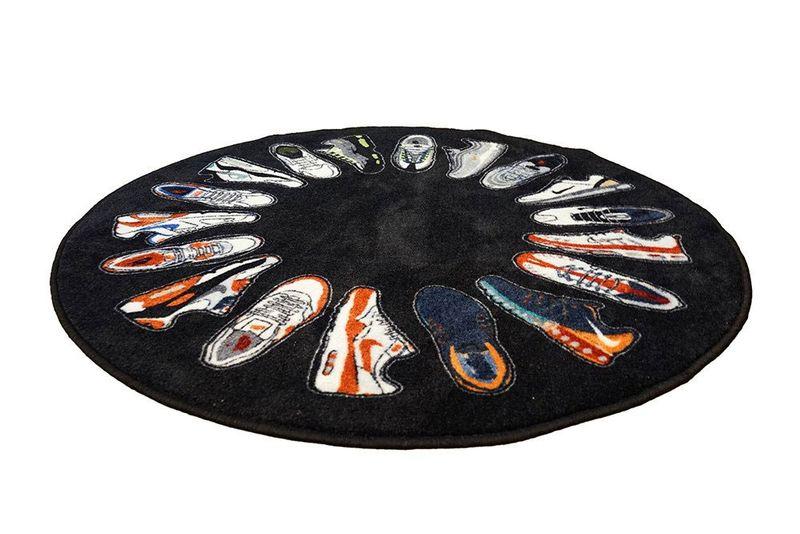 Circular Sneaker Rugs