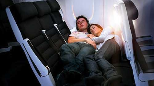 Snuggle-Friendly Airline Seats