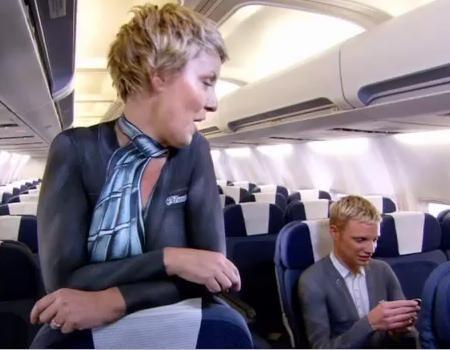 Nude In-Flight Videos