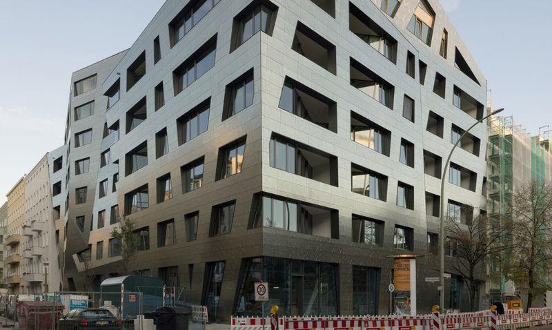 Angular Air-Purifying Buildings