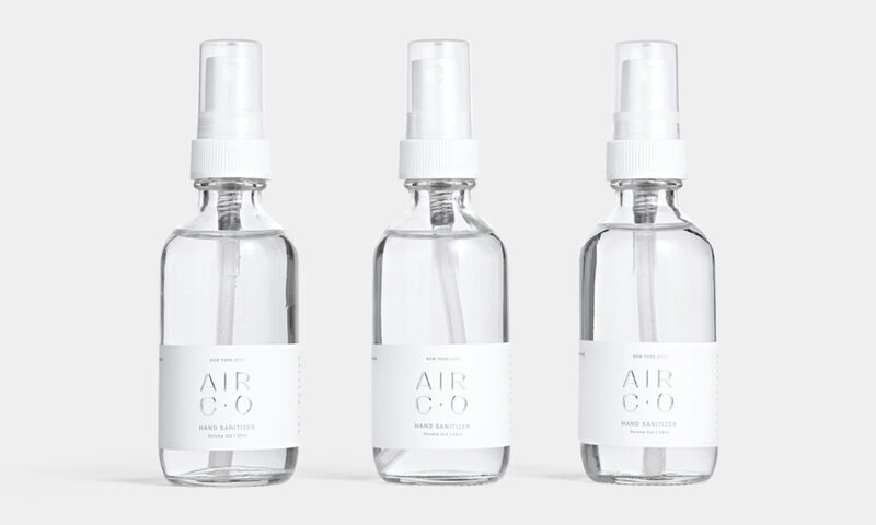 Captured CO2 Hand Sanitizers
