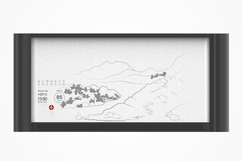 Mountainous Artwork Air Purifiers