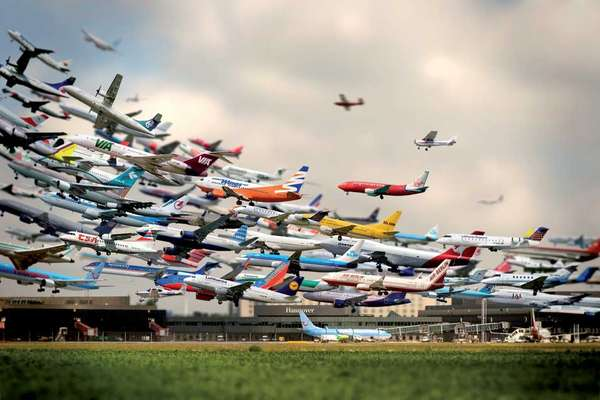 Air Traffic Art