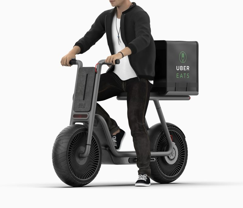 Sustainable Urban Delivery Scooters