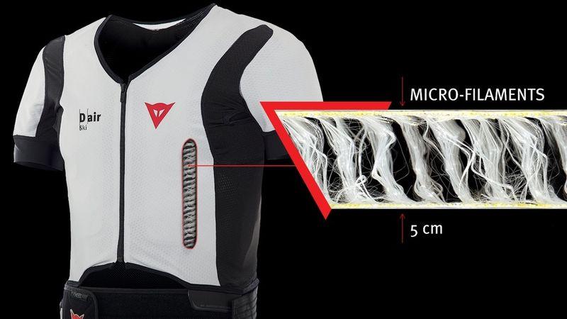 Skiier-Saving Airbag Vests