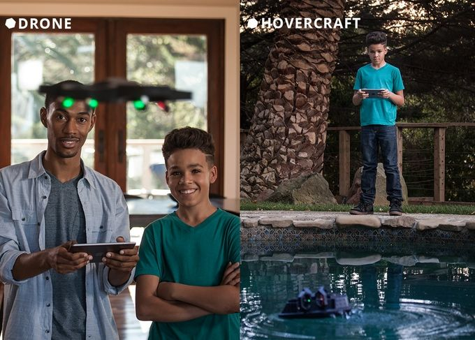 Modular Hovercraft Drones