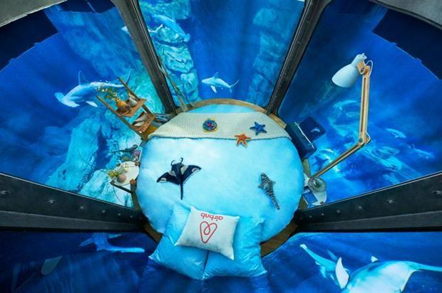 Shark-Infested Underwater Bedrooms