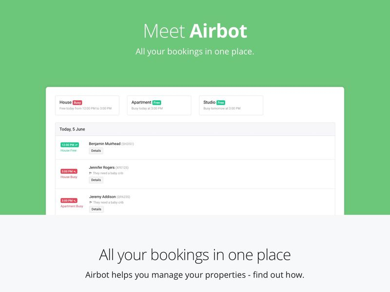 Rental Booking Organization Apps