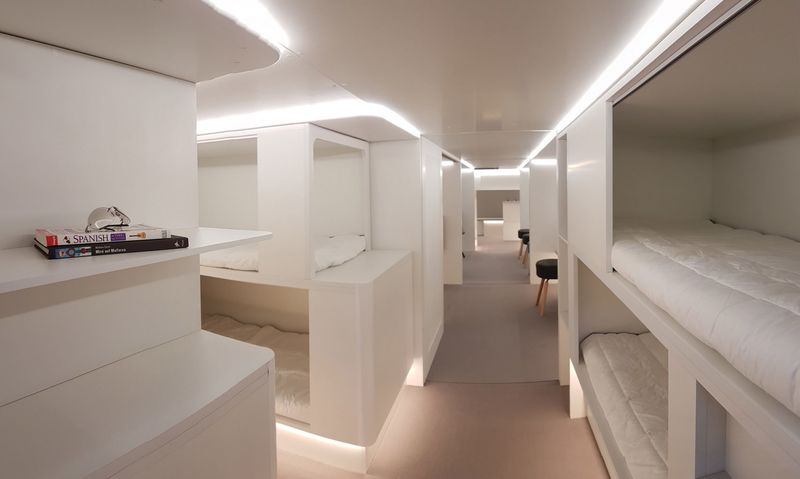 In-Flight Bunk Beds