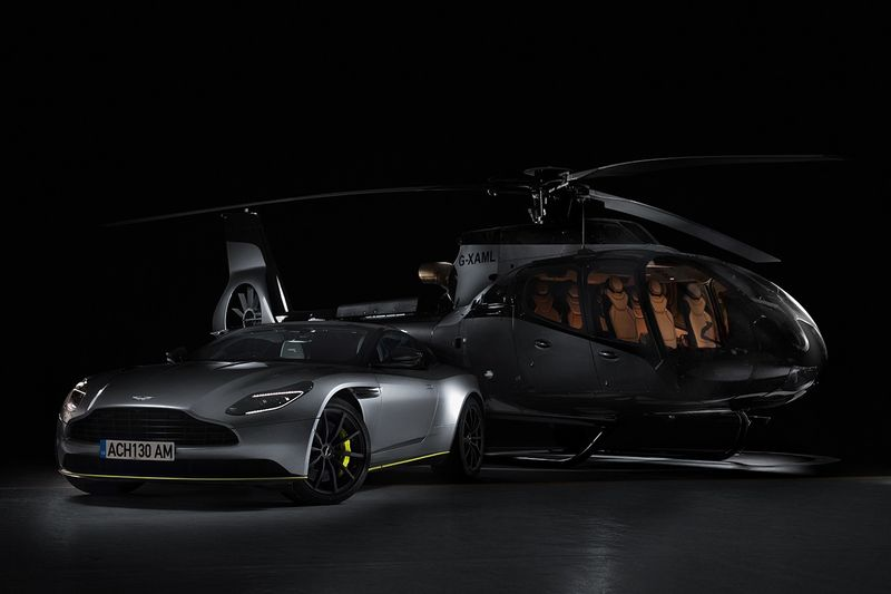 Luxury Car-Inspired Helicopters