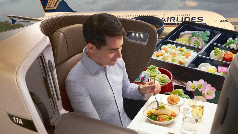 Passenger Aircraft Restaurants