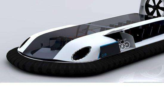 Solar Powered Hovercrafts Airflow